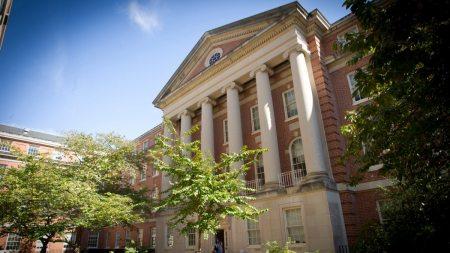 School of Medicine's MacNider Hall.