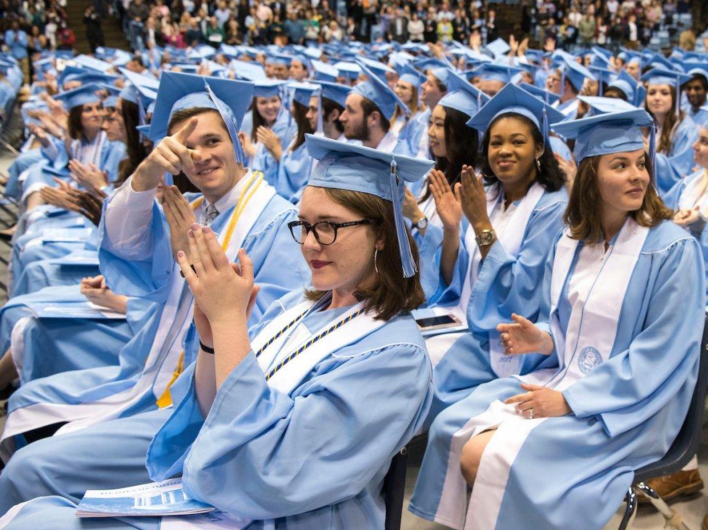 photo of carolina graduates
