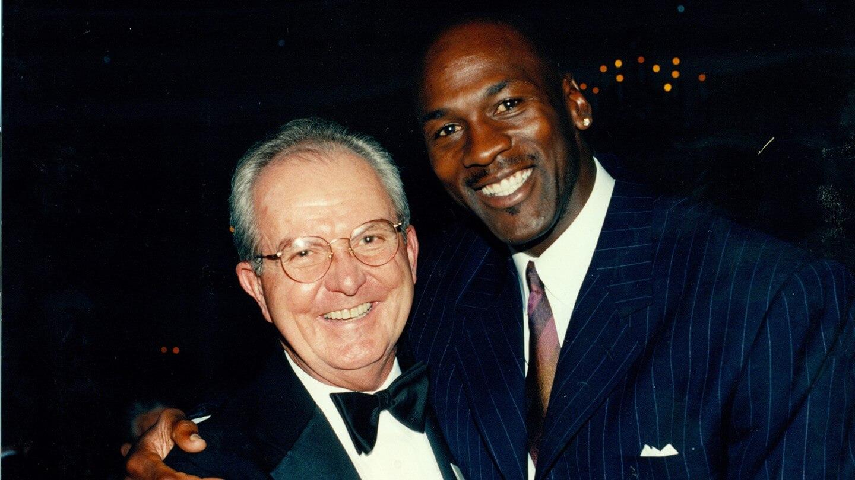 Woody Durham and Michael Jordan