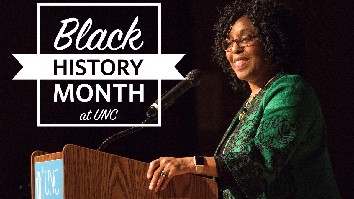 Black History Month at UNC-Chapel Hill.