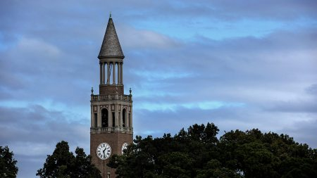 Bell Tower on UNC-Chapel Hill campus.