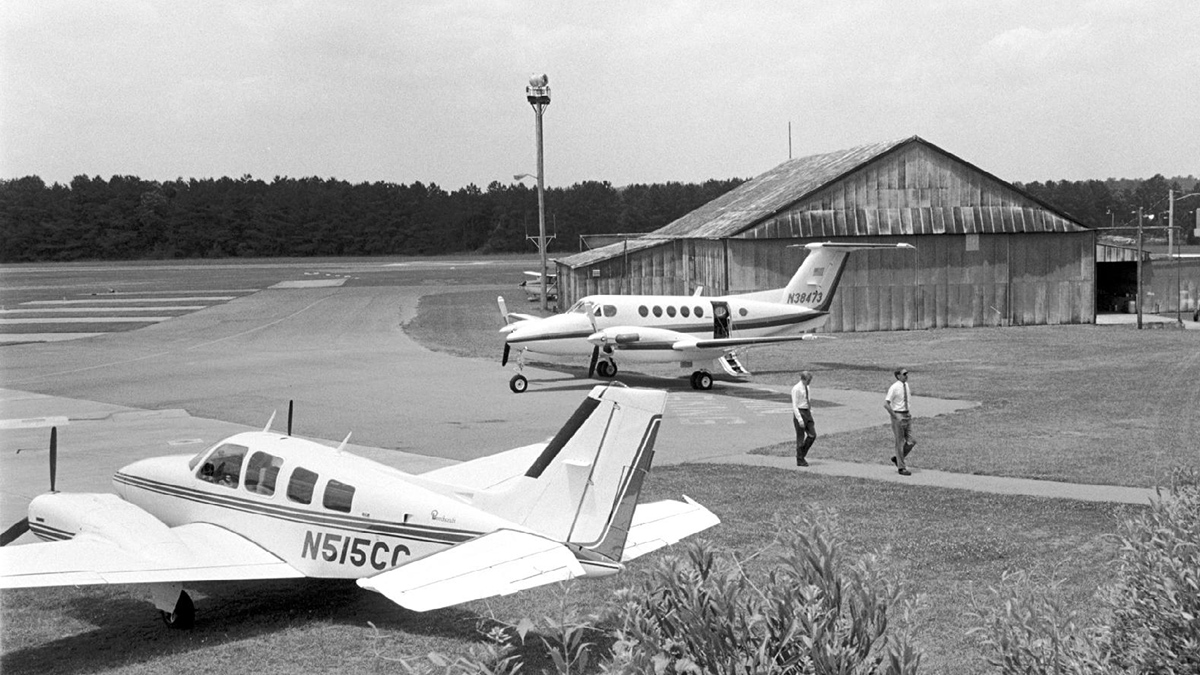 Horace Williams Airport.