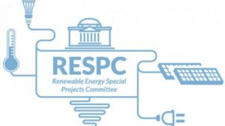 A logo that says Renewable Energy Special projects.
