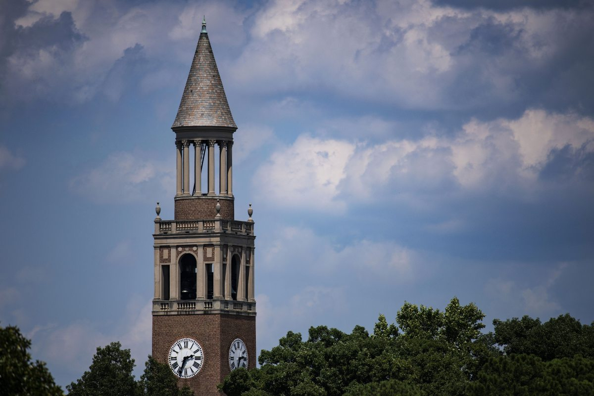 Morehead-Patterson Bell Tower.