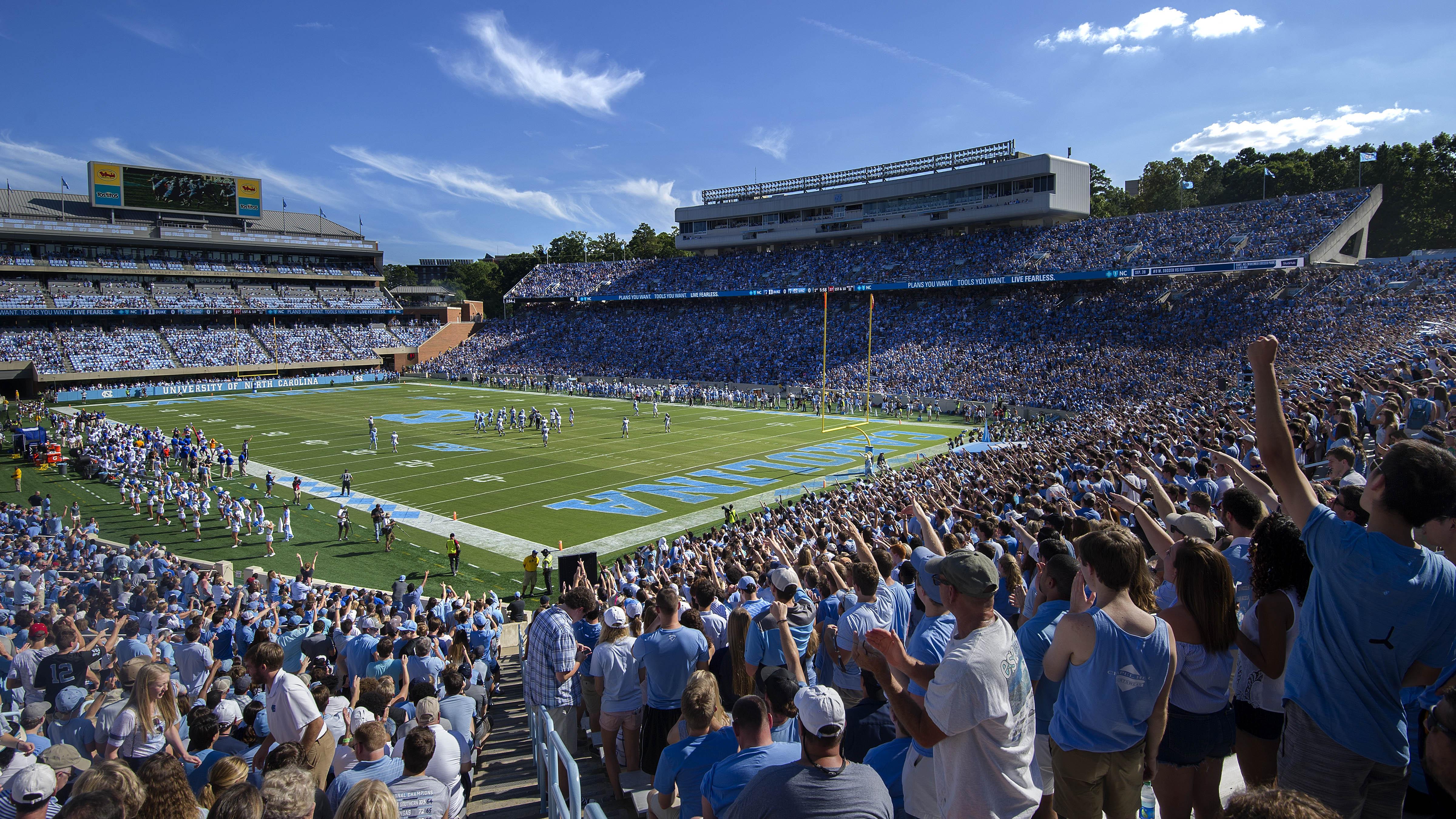 Carolina Football vs  Georgia Tech - Homecoming - The