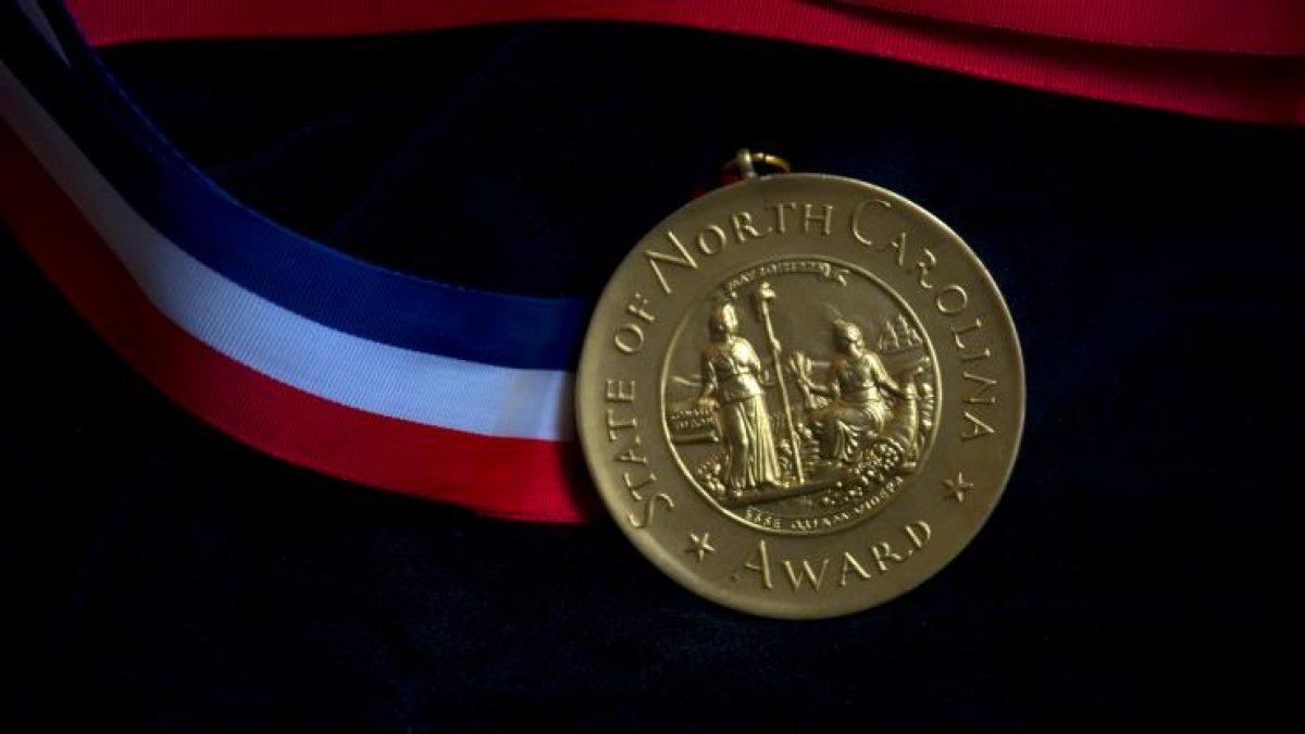 North Carolina Award medal