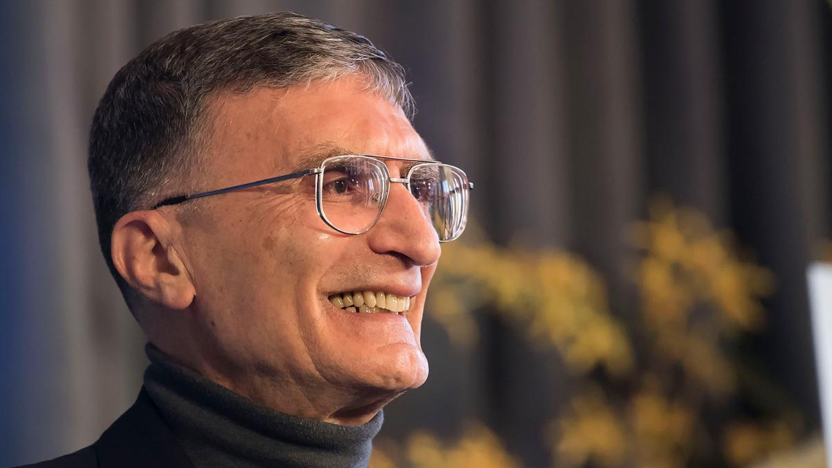Aziz Sancar.