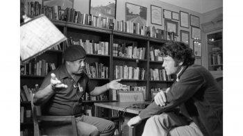Bill Ferris interviews author Ernest Gaines in 1980.