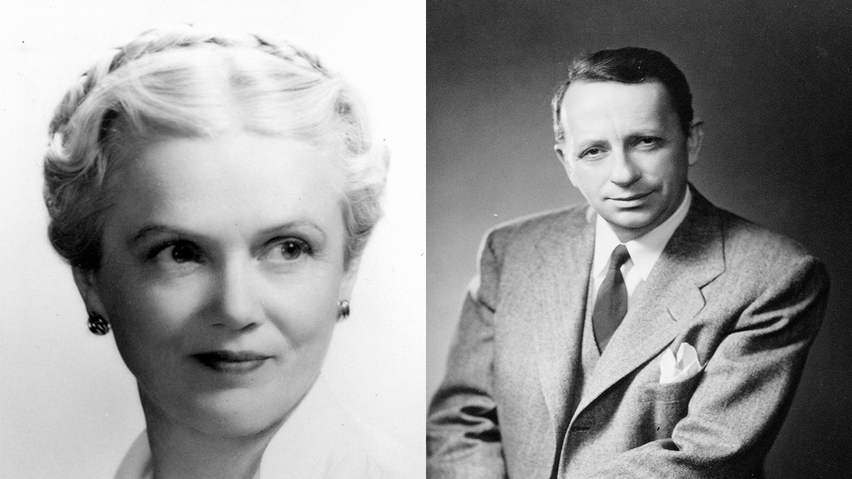Gladys and Albert Coates
