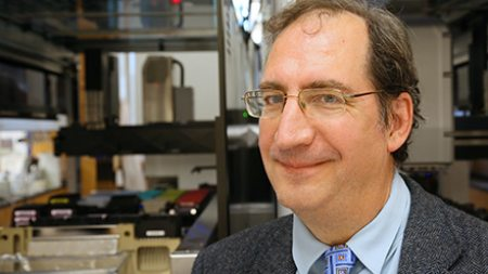 Dr. Bryan Roth in his lab.