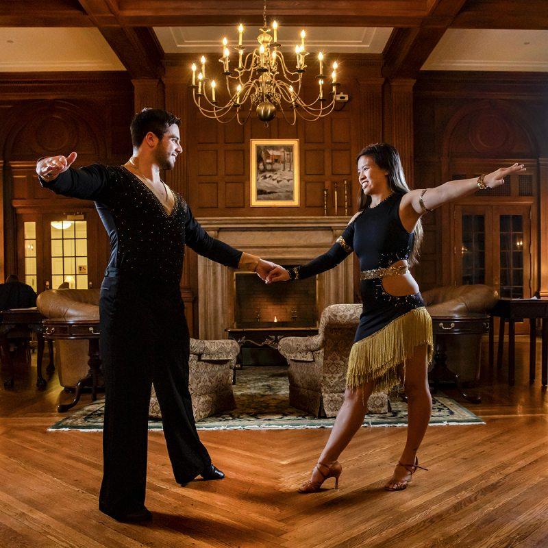 Students dancer.