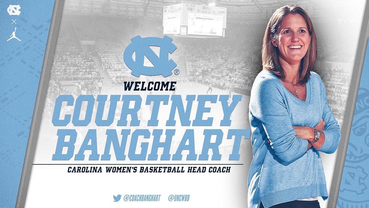 Courtney Banghard, Carolina women's basketball coach.