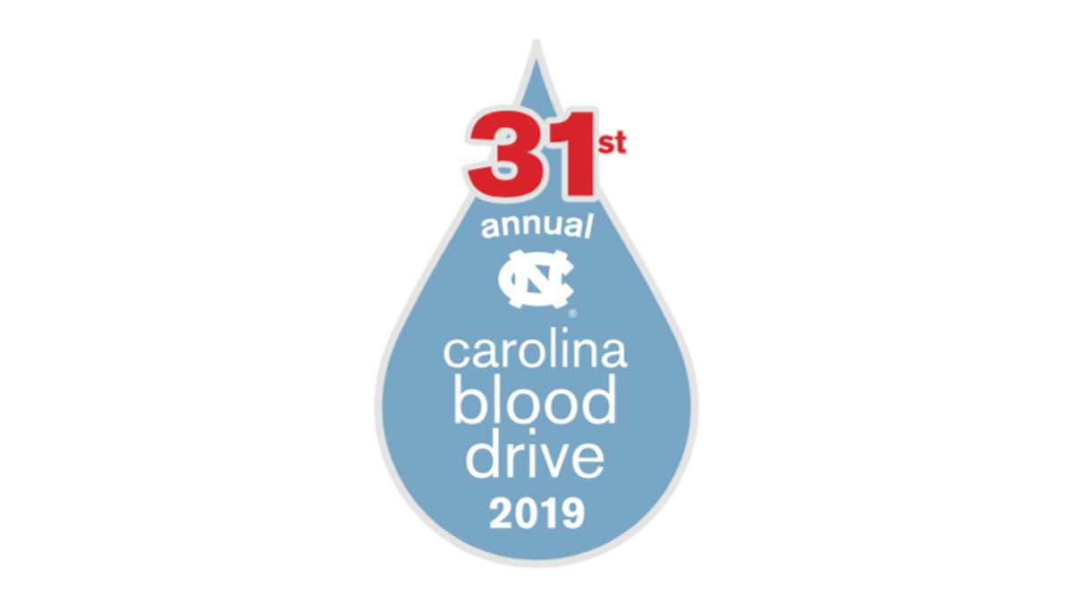 31st annual Carolina Blood Drive 2019.