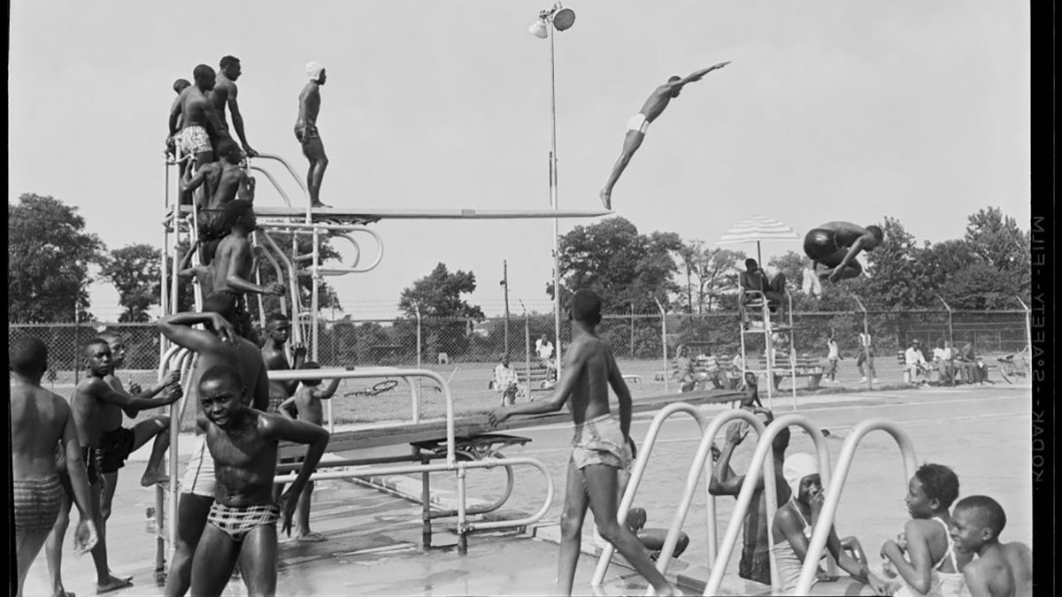 Stith Park pool in Rocky Mount, North Carolina, 1959.