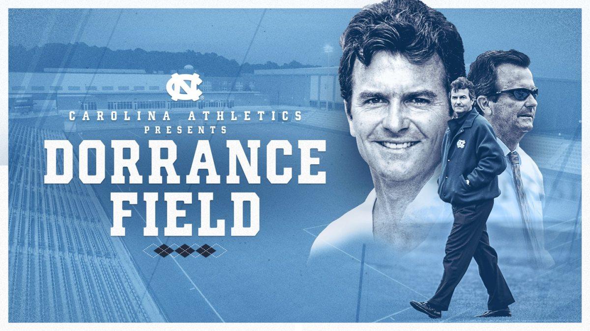 Carolina Athetlics presents Dorrance Field.