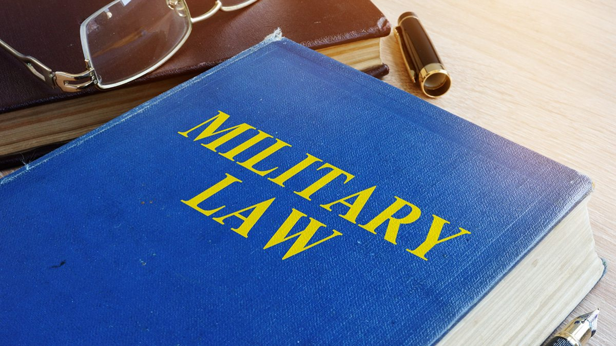 military law textbook