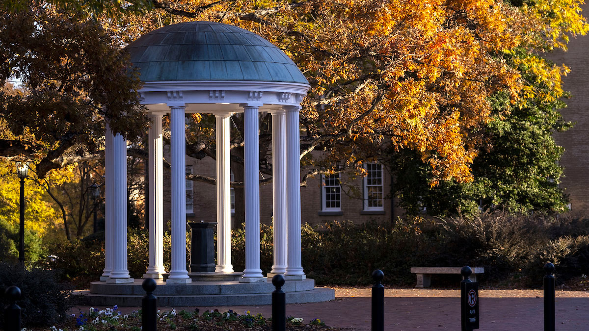 The Old Well during fall.