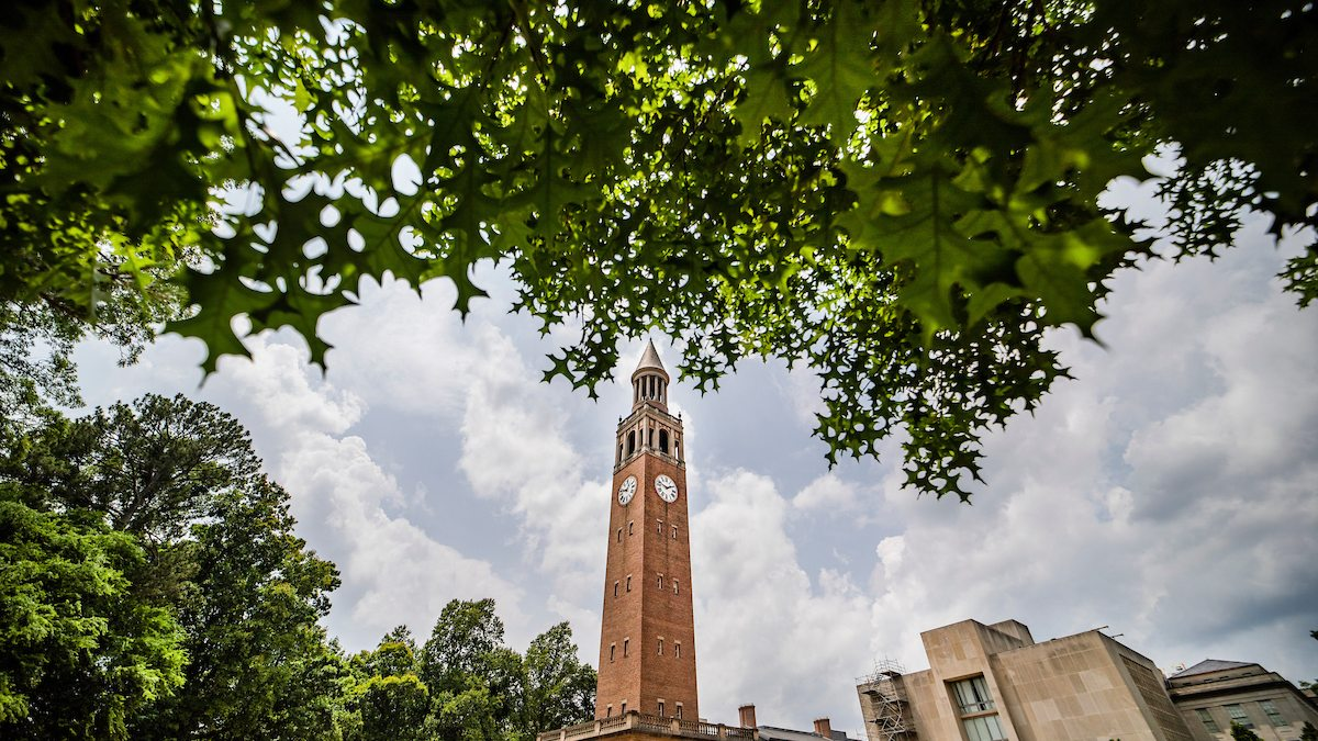 The Bell Tower in spring.
