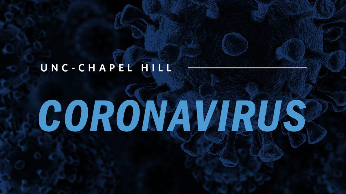 UNC-Chapel Hill Coronavirus
