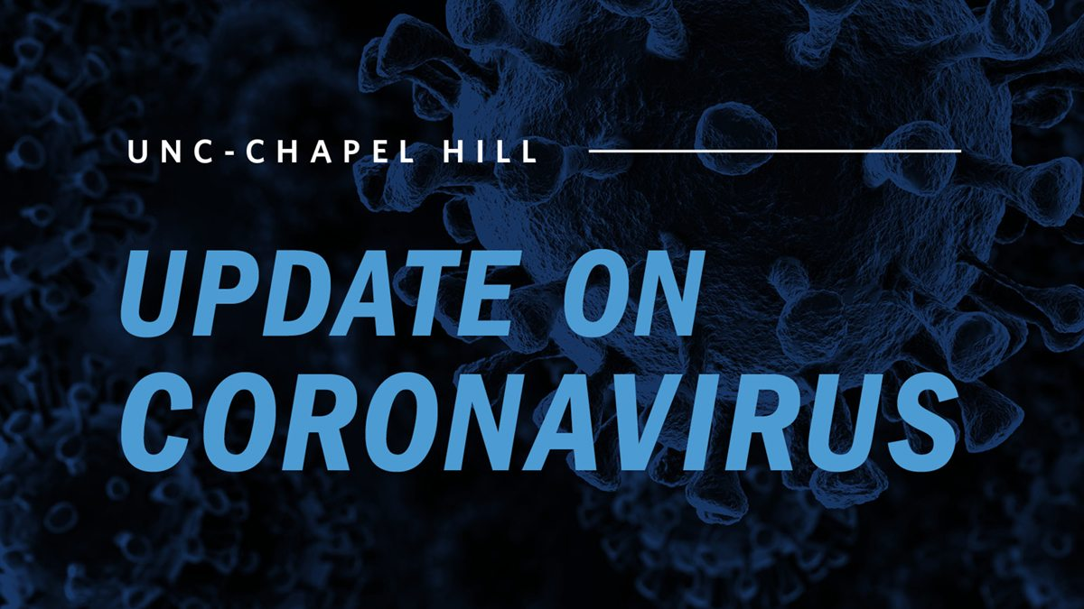 UNC-Chapel Hill update on Coronavirus