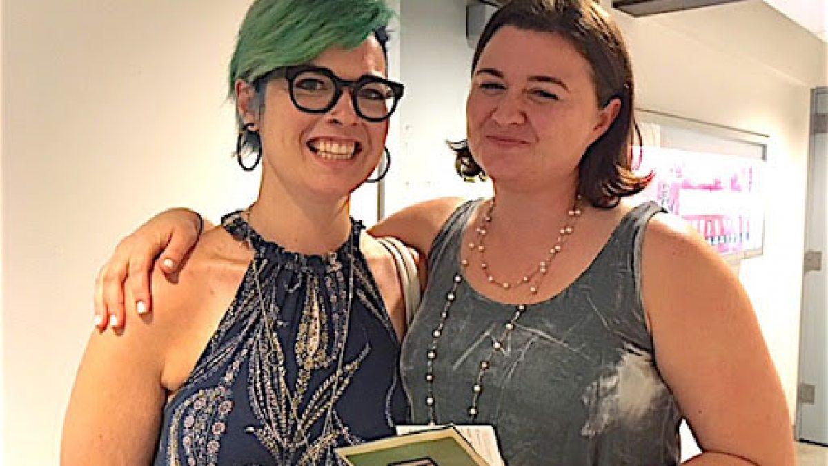 Catya McMullen with Jenna Worsham.