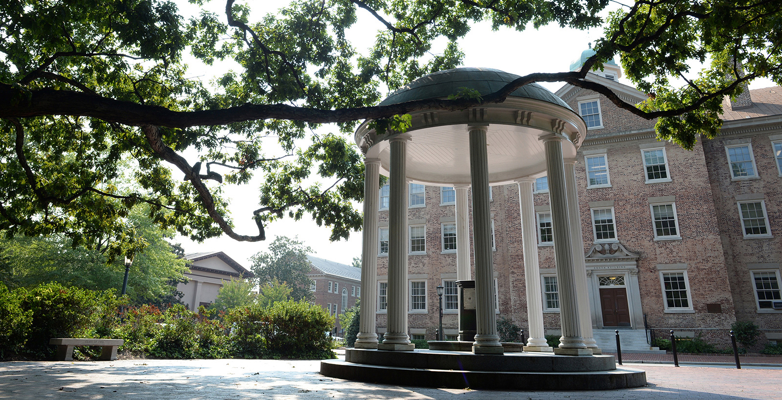The Old Well in front of South Building.