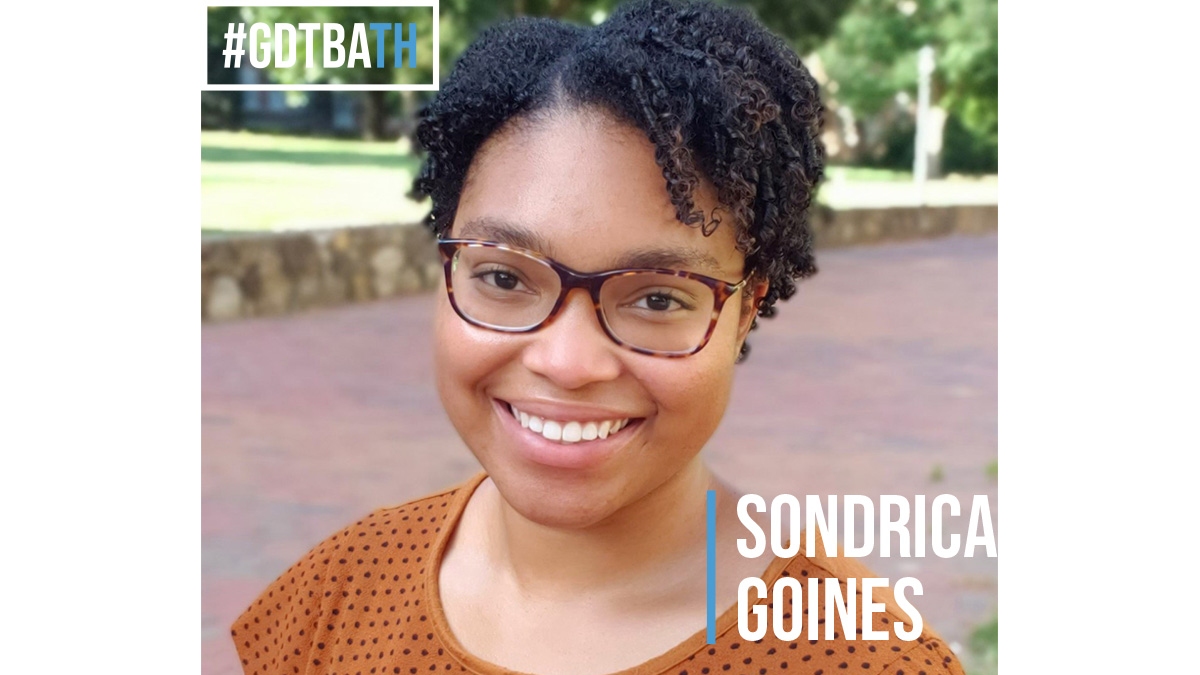 #GDTBATH: Sondrica Goines