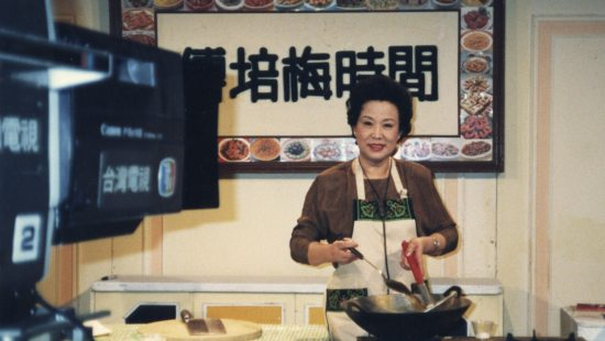 Taiwanese cook Fu Pei-mei hosts a cooking show.