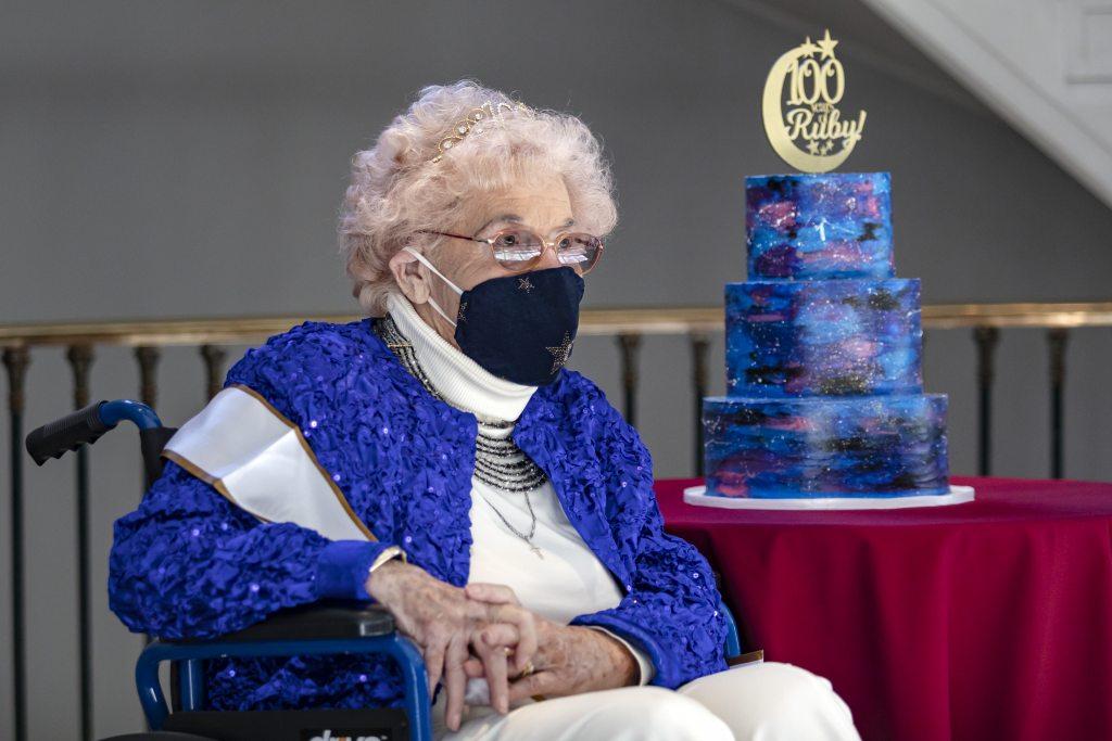 N.C. woman celebrates 100th birthday at Morehead Planetarium and Science Center