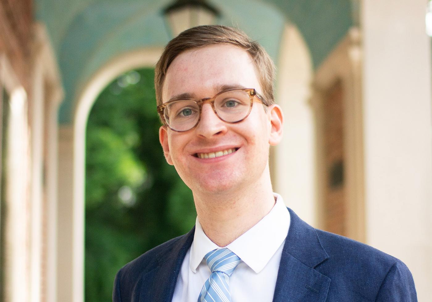 UNC graduate Peter Andringa receives Rhodes Scholarship