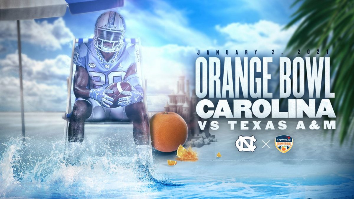 The Orange Bowl: Jan. 2, 2012. Carolina vs Texas A&M