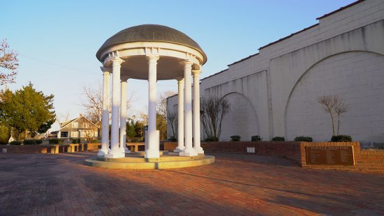 An Old Well in downtown Kinston, North Carolina.