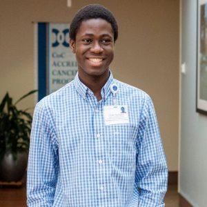 UNC-Chapel Hill student Victor Ilevbare.