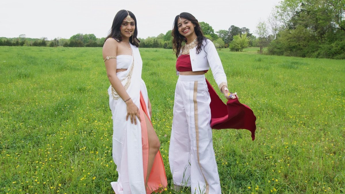Pareen Bhagat and Hrishika Muthukrishnan of WE ARE SAATH.