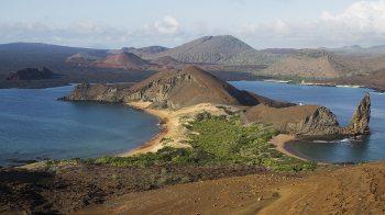 The landscape of Bartolomé Island