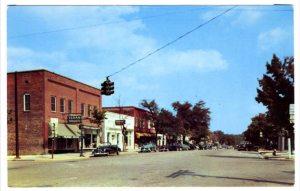 An old postcard of Franklin Street.