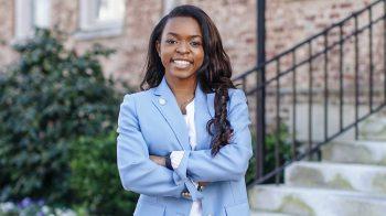 Carolina student Kennedy Byrd