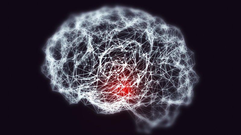 Imaging of a brain.