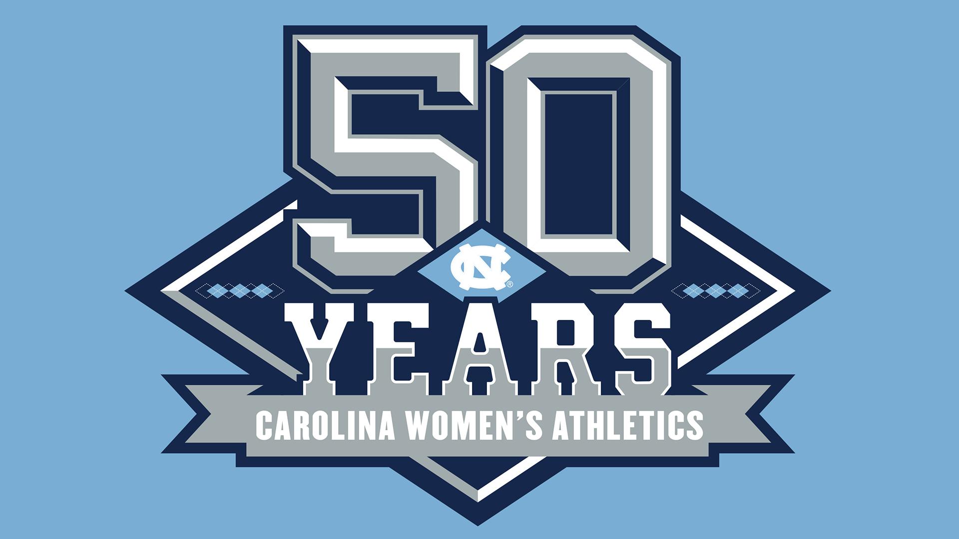 50 years of carolina women's athletics