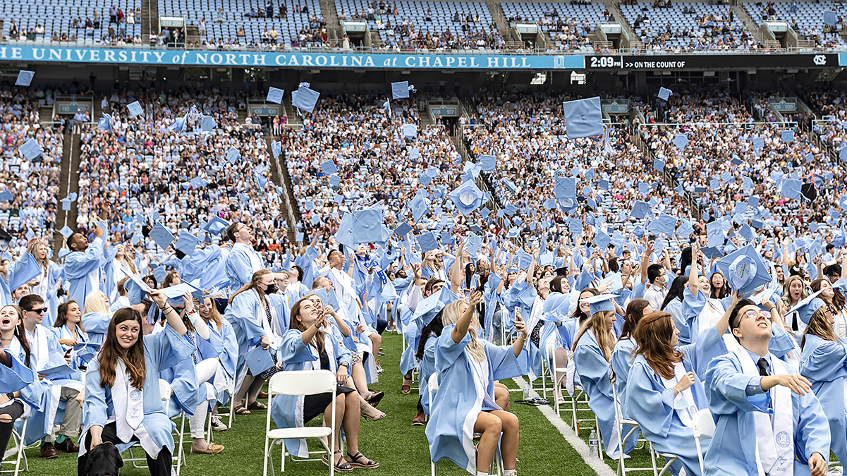Class of 2020 returns to their second home to celebrate Commencement